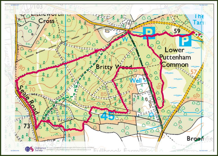 OS Route Map