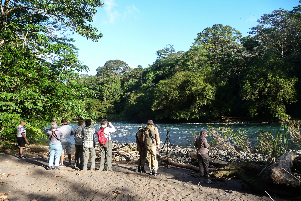 River by Lodge at La Selva