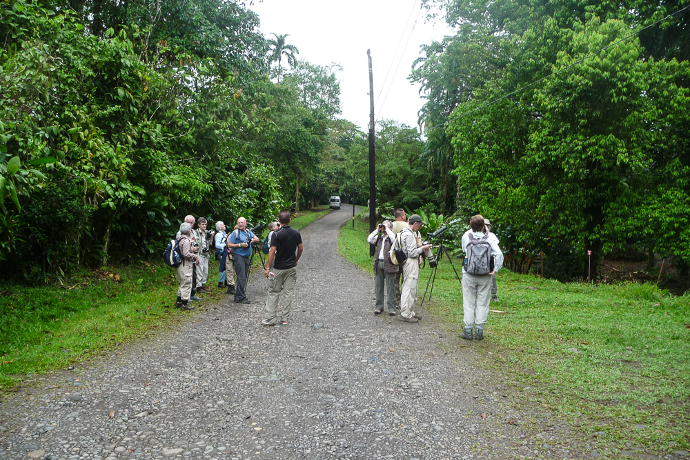 Arriving at La Selva Biological Station